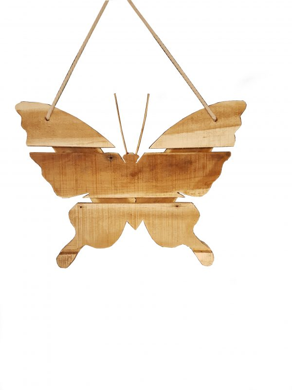 Houten vlinder